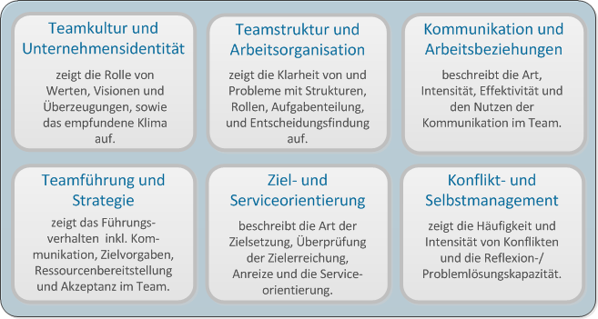 Online Analyse der Teampferformance